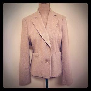 Banana Republic single button wool blazer size 10